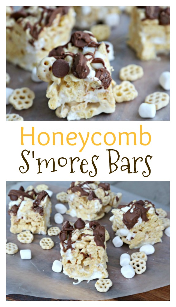 Honeycomb S'mores Bars