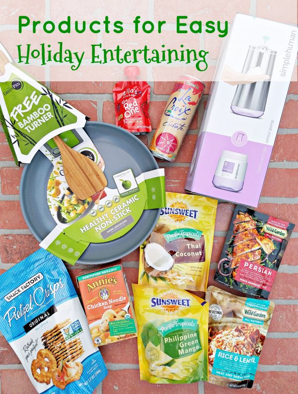 Products for Easy Holiday Entertaining #HostToastBabbleboxx