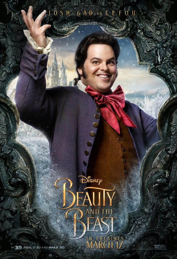 Josh Gad as LeFou in Beauty in the Beast