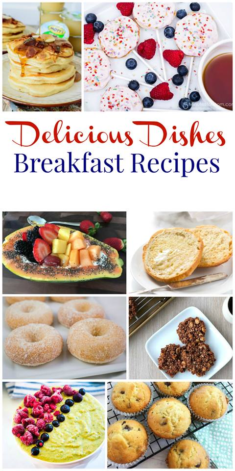 Favorite Breakfast Recipes from Delicious Dishes Recipe Party #58