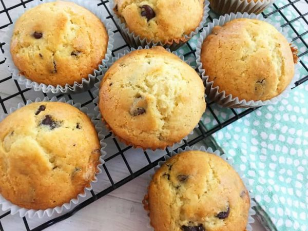 Chocolate Chip Muffins from Life with Heidi