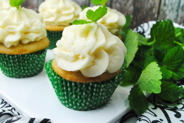Mint Julep Cupcakes from April GoLightly