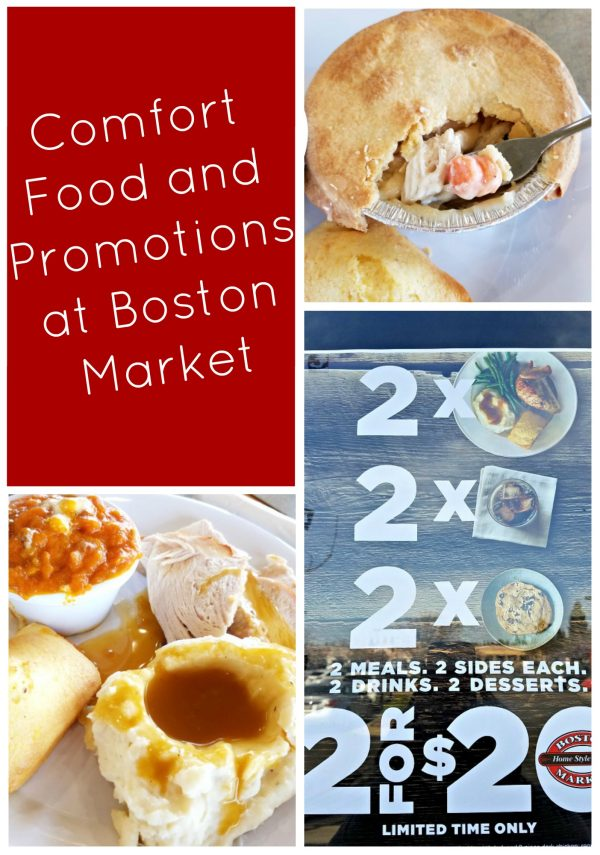 Comfort Food and Promotions at Boston Market