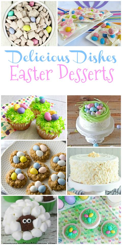 Favorite Easter Dessert Recipes