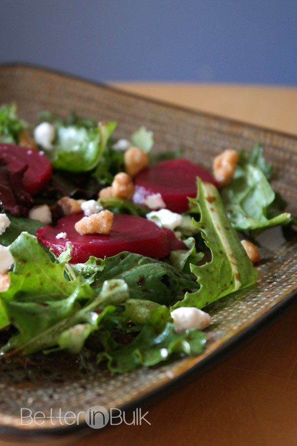 Goat Cheese Beet Spring Salad from Food Fun Family