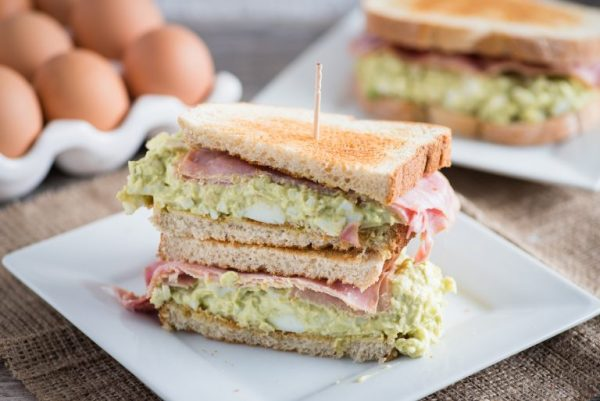 Green Eggs and Ham Sandwich from Almost Supermom