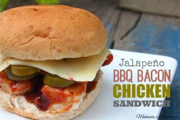 Jalapeno BBQ Bacon Chicken Sandwich