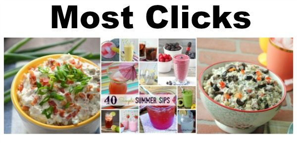 Most Clicks from Delicious Dishes Recipe Party 70