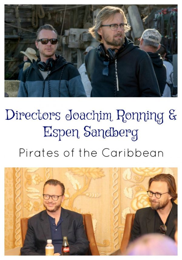 My Interview with Directors of Pirates of the Caribbean: Joachim Ronning & Espen Sandberg
