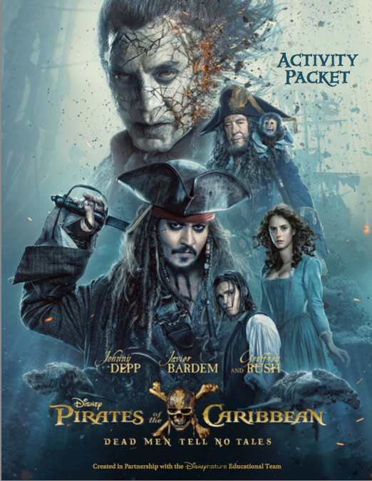 Pirates of the Caribbean Activity Sheets