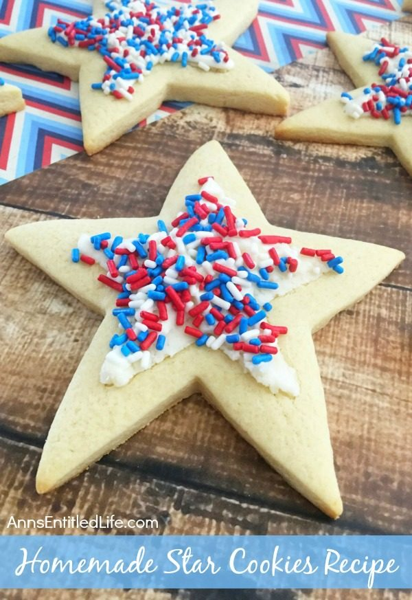 Homemade Star Cookies from Ann's Entitled Life