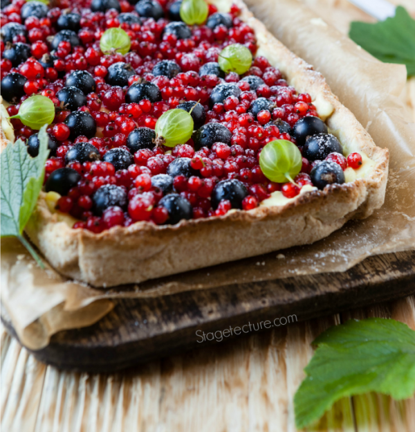 Patriotic Berry Pie Recipe from Stagetecture
