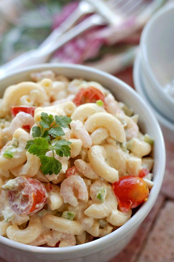 Shrimp Macaroni Salad from Bunny's Warm Oven