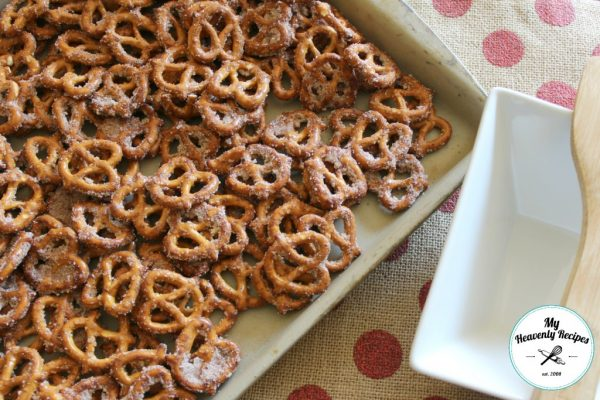 Quick and Easy Cinnamon Pretzels