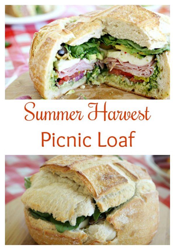 Summer Harvest Picnic Loaf