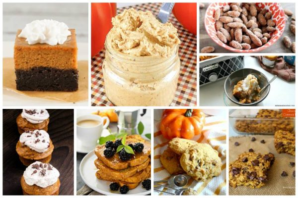 Roundup of yummy pumpkin recipes