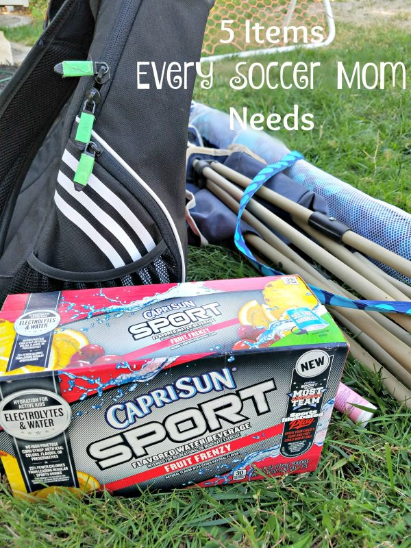 5 Items Every Soccer Mom Needs