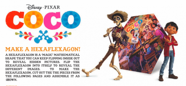 Free Coloring Pages and Activity Sheets for Disney Pixar's COCO