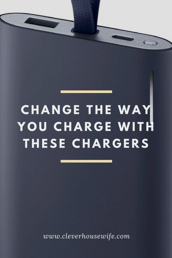 Change The Way You Charge with These Cell Phone Chargers