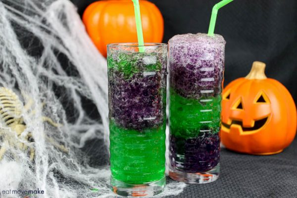 Halloween Slimy Slurpie from Eat Move Make
