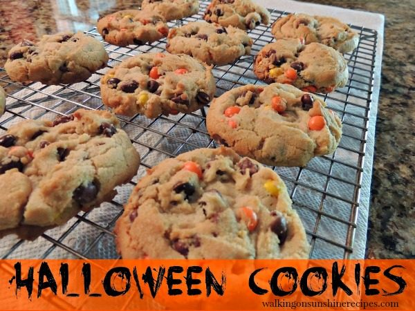 Halloween cookies from Walking On Sunshine Recipes