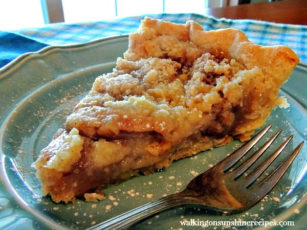 Apple Crumb Pie TWO from Walking on Sunshine Recipes
