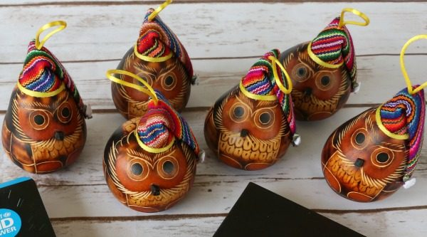 UNICEF owl ornaments