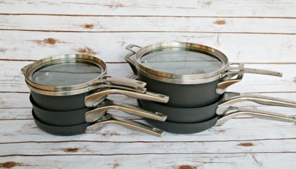 Calphalon Premier Space Saving Cookware