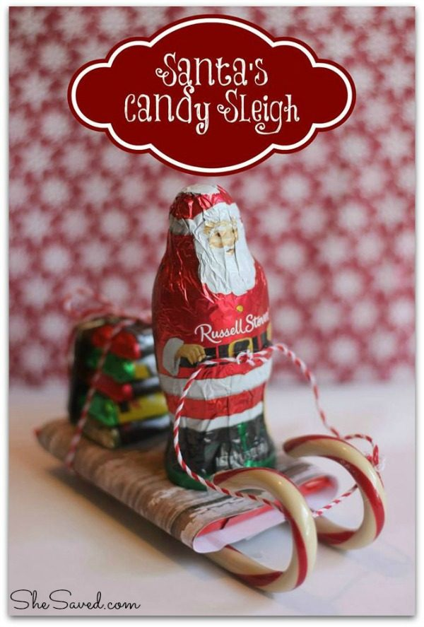 Santa's Candy Sleigh from She Saved