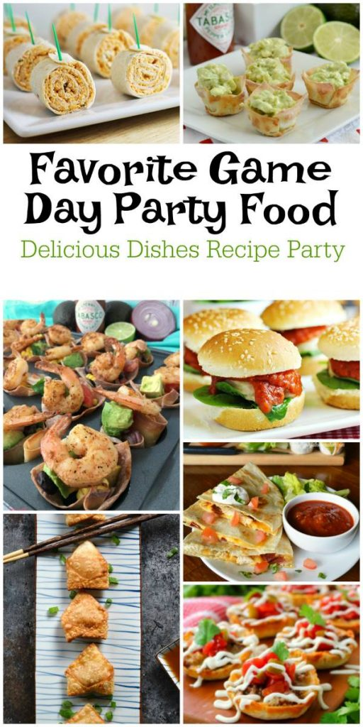 Game Day Party Food