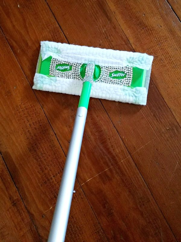 Blinged Out Swiffer Sweeper