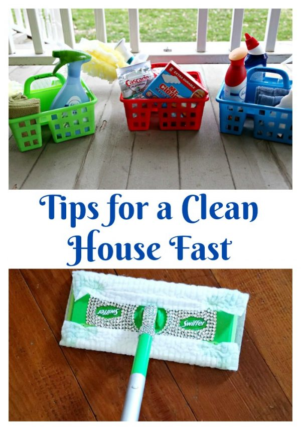 Tips for a Clean House Fast
