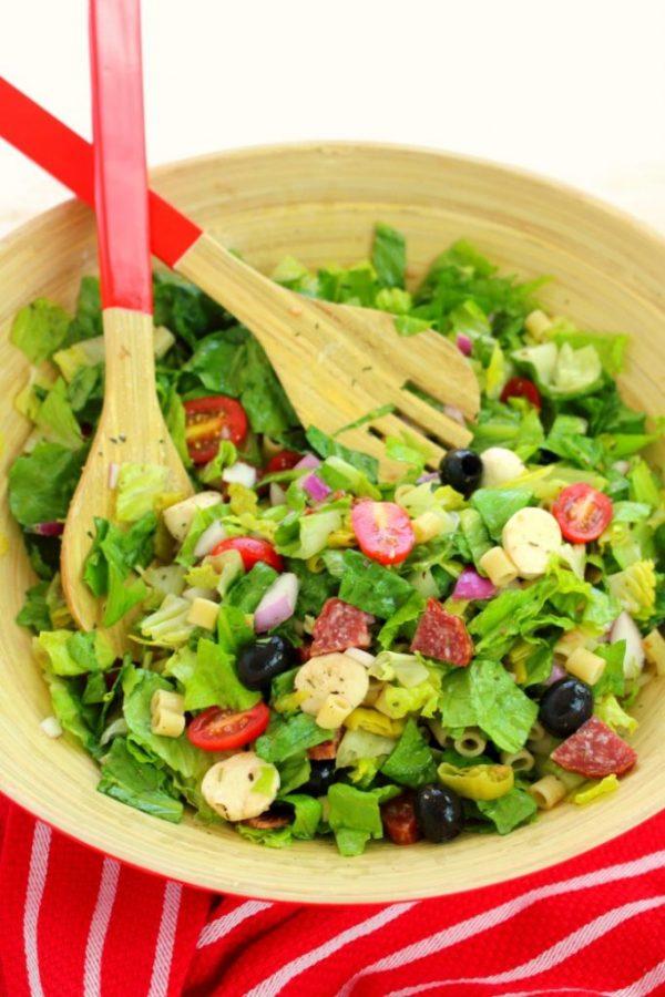 Italian Chopped Salad from Delightful E Made