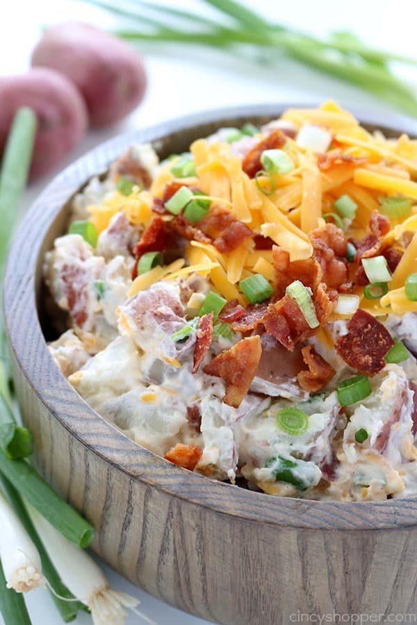 Loaded Potato Salad from Cincy Shopper