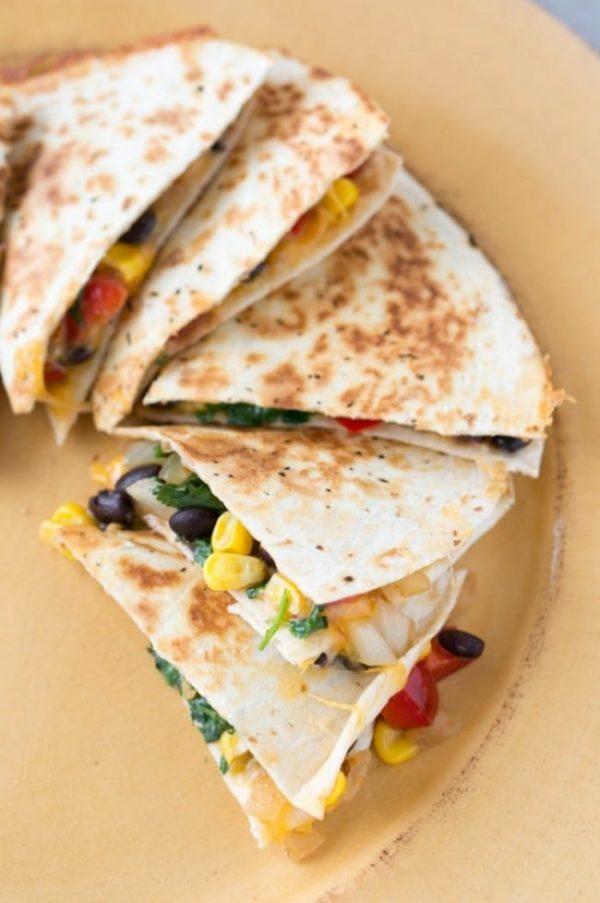 Loaded Southwest Quesadillas Recipe