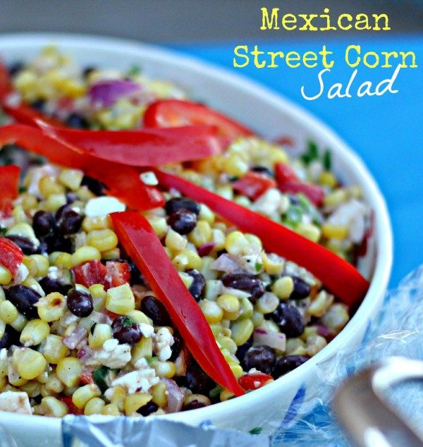Mexican Street Corn Salad from Clever Housewife