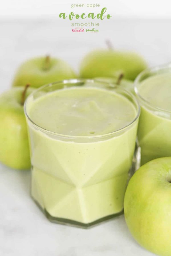 Green Apple Avocado Green Smoothie from Simply Blended Smoothies