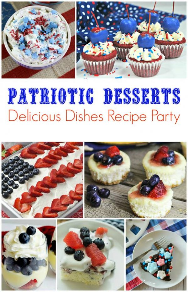 Patriotic Desserts for your 4th of July parties
