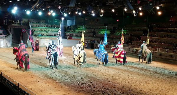 The Medieval Times Dinner and Tournament is a great activity when traveling! Check out the new storyline with A Queen to Rule the Medieval Times Dinner and Tournament