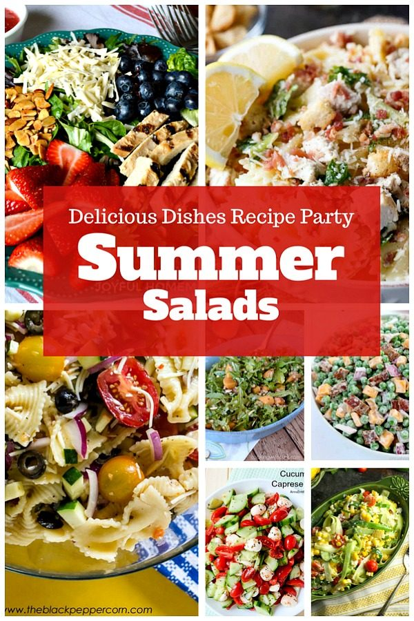 Summer Salads that are perfect for any BBQ or those days when you're too hot to do anything else!