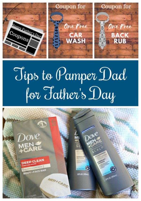 Tips to Pamper Dad for Father's Day
